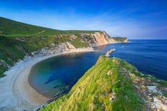 Beautiful beach on the Jurassic Coast of Dorset. UK Stock Photo