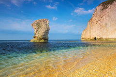 Beautiful beach on the Jurassic Coast of Dorset Stock Images