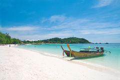 Beautiful beach on Koh Lipe, Andaman Sea,Thailand Royalty Free Stock Image