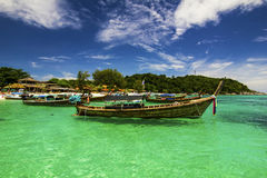 Beautiful beach on Koh Lipe Andaman Sea Stock Photography