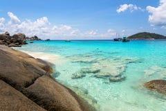 Beautiful beach at Koh Miang in Mu Koh Similan, Thailand Royalty Free Stock Photos