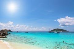 Beautiful beach at Koh Miang in Mu Koh Similan, Thailand Stock Image