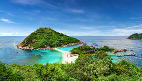 Beautiful beach of Koh Tao, Thailand Stock Photo
