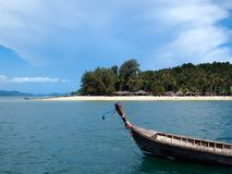 Beautiful beach in Krabi, Thailand royalty free stock photos