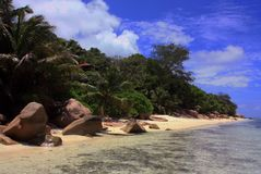 La Digue Island, Seychelles Stock Photography