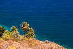 Beautiful beach in La Gomera island - Canary Stock Image