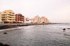 Beautiful Beach Las Galletas Stock Photos