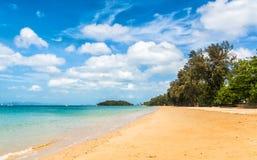 Beautiful beach. Location: Krabi province, Thailand, Andaman Sea Stock Photo
