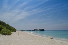 Beautiful Beach - Maldives Stock Image