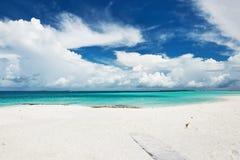 Beautiful beach at Maldives Royalty Free Stock Photography