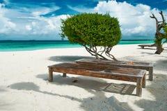 Beautiful beach at Maldives Stock Photo
