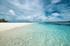 Beautiful beach at Maldives Stock Photos