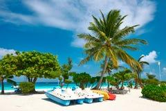 Beautiful beach Maldives Stock Photos