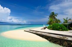 Beautiful beach at Maldives Stock Image