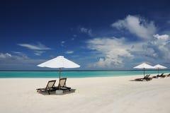 Beautiful beach at Maldives Royalty Free Stock Image