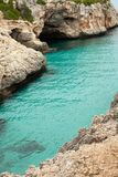 Beautiful beach in Mallorca,Spain. Holidays. Summer.  Stock Photography