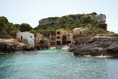 Beautiful beach in Mallorca,Spain. Holidays. Summer.  Royalty Free Stock Photos