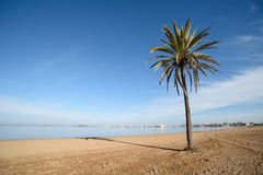 The beautiful beach of Mar de Cristal Stock Photo