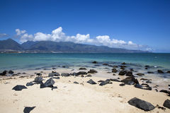 Beautiful Beach on Maui Royalty Free Stock Photos