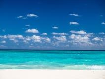 Beautiful beach in Mexico Stock Photos