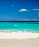 Beautiful beach in Mexico Royalty Free Stock Images