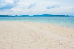 Beautiful beach in Naka Noi Island, Phuket Stock Photos