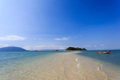 The beautiful beach in Nha Trang, Vietnam. Peaceful beach in Nha Trang, Vietnam stock image