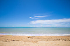 Beautiful beach on nice day, Bang Neng beach : Phang- Nag provin Stock Image
