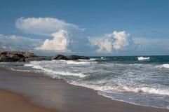 Beautiful beach and nobody Stock Photo