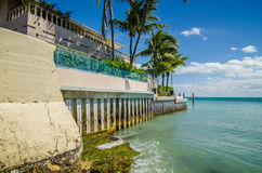 Beautiful beach and ocean scenes in florida  keys Royalty Free Stock Photography