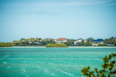 Beautiful beach and ocean scenes in florida keys Royalty Free Stock Photos