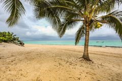 Ocean view. A beautiful beach and ocean view Stock Image