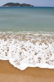 Beautiful beach and ocean waves Royalty Free Stock Photos