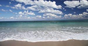 Beautiful Beach. Ocean waves at the beach Stock Photos