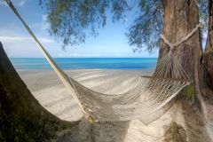 Beautiful Beach oceanfront tropical sea and coconut palm. At koh kood trad Thailand Royalty Free Stock Photos
