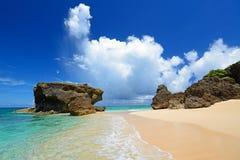 Beautiful beach in Okinawa Royalty Free Stock Photos