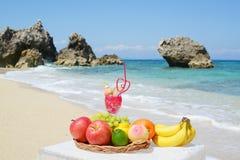 Beautiful beach in Okinawa Stock Images