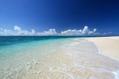 Beautiful beach in Okinawa Royalty Free Stock Image