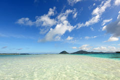 Beautiful beach in Okinawa Stock Photos