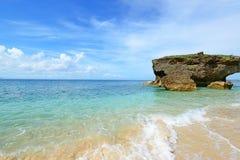 Beautiful beach in Okinawa Royalty Free Stock Photography