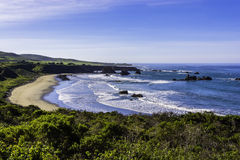 Free Beautiful Beach On The Big Sur Highway Stock Images - 50682714