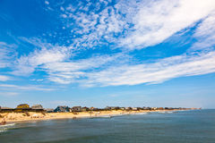 Beautiful beach at the outer banks Royalty Free Stock Photo