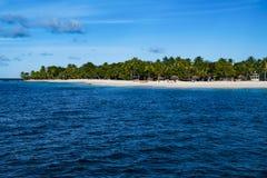 Palm Island, The Grendadines Resort and Spa, beautiful beach, Grenadines, Royalty Free Stock Photos