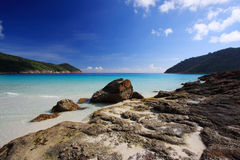 Beautiful Beach Panorama Stock Photos