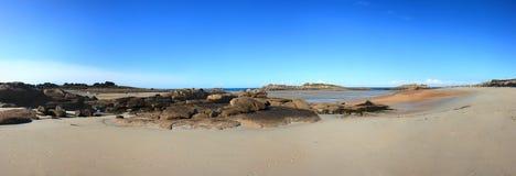 Beautiful beach panorama Stock Photo