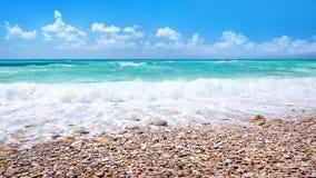 Beautiful beach panoramic landscape Stock Images