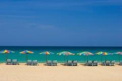 Beautiful beach at Patong beach , Phuket Stock Photo