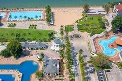 Beautiful beach in Pattaya, Thailand. Stock Photos