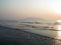 Beautiful beach. This is photo of Revdanda beach,India royalty free stock photo