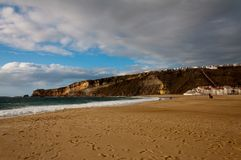 Beautiful beach in Portugal Royalty Free Stock Photo